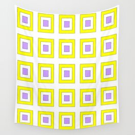 Tribute to mondrian 8- piet,geomtric,geomtrical,abstraction,de  stijl, composition. Wall Tapestry