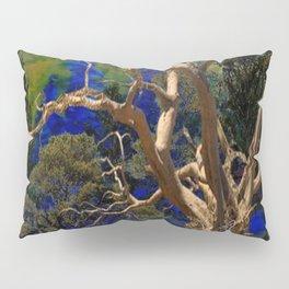 CONTEMPORARY BLUE  WILDERNESS ART  DESIGN Pillow Sham