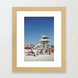 Beach Living Framed Art Print