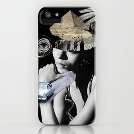 puffed out iPhone Case