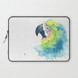 Watercolor Parrot Laptop Sleeve