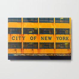 City of New York (Ferry) Metal Print