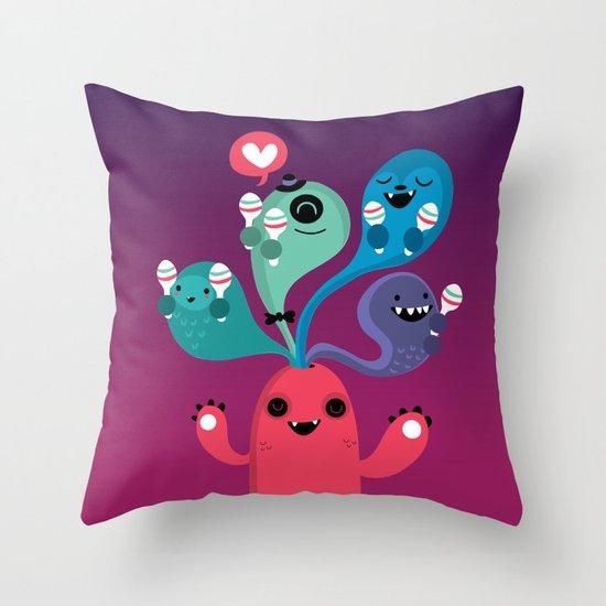 We love Fiesta Throw Pillow