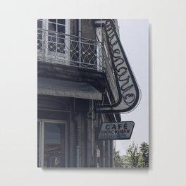 Café Milenário Metal Print