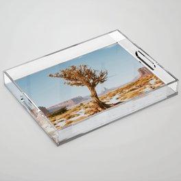 Monument Valley Juniper Acrylic Tray