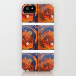 MAHLER 2       The Earth  Symphony     by Kay Lipton iPhone Case
