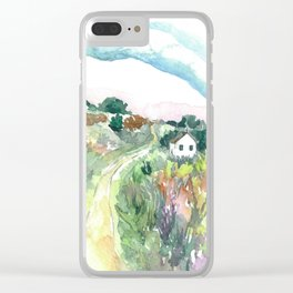 The Journey Home Clear iPhone Case