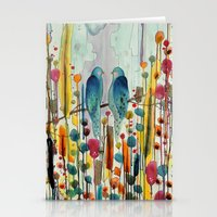 andreas preis Stationery Cards featuring we by sylvie demers
