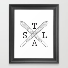 S.T.L.A Framed Art Print
