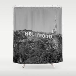 Vintage HOLLYWOOD Shower Curtain