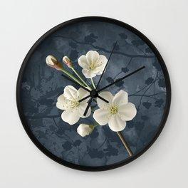 It blooms my cherry tree Wall Clock