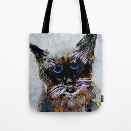 Old Cat Tote Bag
