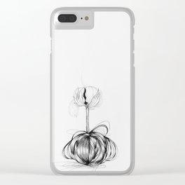 Algodón - Cotton Clear iPhone Case
