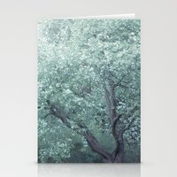 monet Stationery Cards featuring Monet Tree by Theo Beck Photography