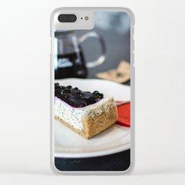 Cake Clear iPhone Case