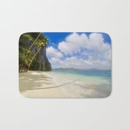 Spectacular beach Bath Mat