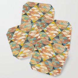 Triangles and Circles Pattern no.23 Coaster