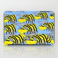 bees iPad Cases featuring Bees by David Abse