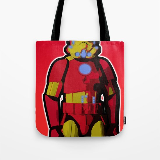 iron trooper Tote Bag