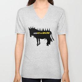 Punk Donkey Unicorn Unisex V-Neck