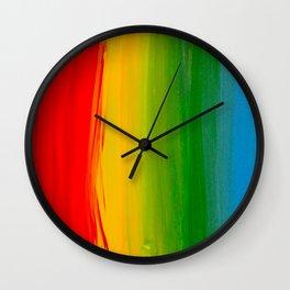 Rainbow Bright Wall Clock