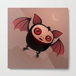 Red Eye the Vampire Bat Boy Metal Print