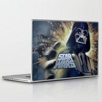 vader Laptop & iPad Skins featuring Vader by DisPrints