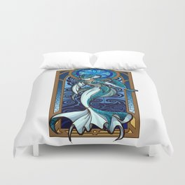Sage of Water Duvet Cover