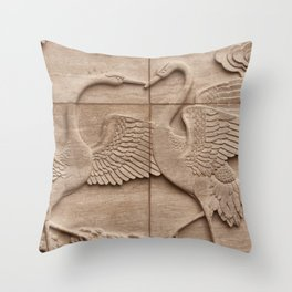 Big birds Throw Pillow