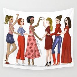 Women Wall Tapestry