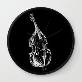 Contrabass Wall Clock