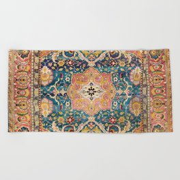 Amritsar Punjab North Indian Rug Print Beach Towel