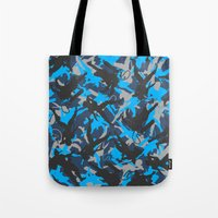 metal gear Tote Bags featuring Metal Gear Rising Revengeance (V1) by Syafiq Hazmie ASHPLUS