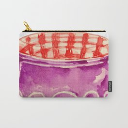 Blueberry Jam Carry-All Pouch