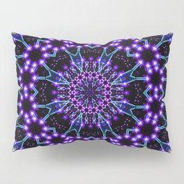 Light Structures Mandala Pillow Sham