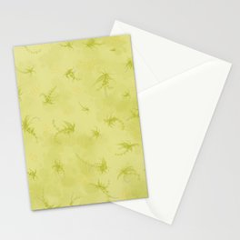 Garden chartreuse  Stationery Cards