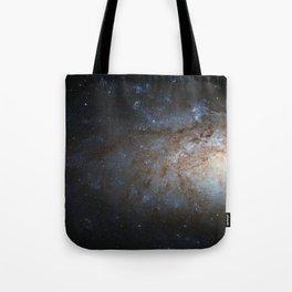 Spiral Galaxy NGC 3621 Tote Bag