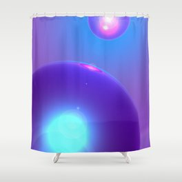 Spheres, No. 2 Shower Curtain