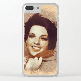 Liza Minnelli, Hollywood Legend Clear iPhone Case