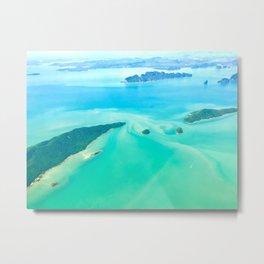 Phuket islands aerial view Metal Print