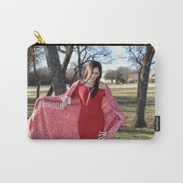 Winter Breeze Smile Carry-All Pouch