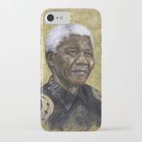 mandela iPhone & iPod Cases featuring Mandela by SaraGolish