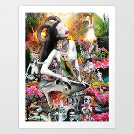 Jungle Melodrama Art Print