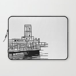 Tower at the sea Laptop Sleeve