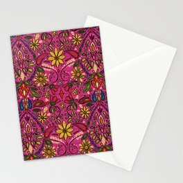 aziza pink Stationery Cards