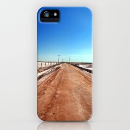 Road to Mud Pots iPhone Case