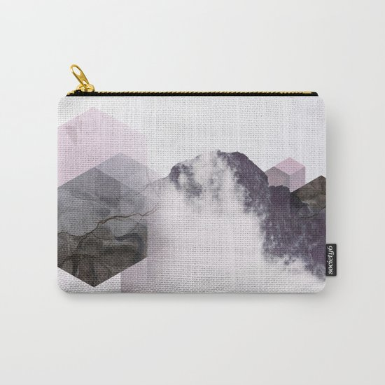 Cloudy Mountains Carry-All Pouch