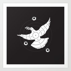 Aim for Peace Art Print