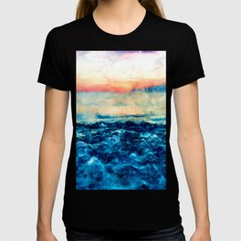 Sea And Sunset T-shirt
