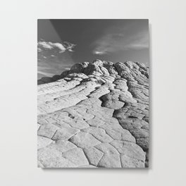 The Brain Rocks of White Pocket Metal Print